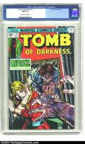 Bronze Age (1970-1979):Horror, Tomb Of Darkness #14 (Marvel, 1975) CGC NM 9.4 Off-white to whitepages. Overstreet 2003 NM 9.4 value = $14. ...