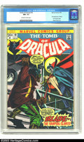 Bronze Age (1970-1979):Horror, Tomb of Dracula #10 (Marvel, 1973) CGC NM- 9.2 Off-white to whitepages. Stunning Gil Kane cover, first appearance of Blade;...
