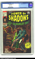 Silver Age (1956-1969):Horror, Tower of Shadows #2 (Marvel, 1969) CGC NM 9.4 Off-white to whitepages. Neal Adams art. Overstreet 2003 NM 9.4 value = $38. ...
