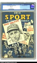 Golden Age (1938-1955):Non-Fiction, True Sport Picture Stories V2#6 (Street & Smith, 1944) CGC VF-7.5 Off-white pages. Dixie Walker baseball cover. Charlie Tom...
