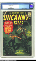 Golden Age (1938-1955):Horror, Uncanny Tales #55 Aurora pedigree (Atlas, 1957) CGC VF/NM 9.0Off-white pages. Bill Everett cover. Angelo Torres art. Highes...