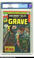 Bronze Age (1970-1979):Horror, Uncanny Tales #5 (Marvel, 1974) CGC NM 9.4 Off-white to whitepages. Overstreet 2003 NM 9.4 value = $14. ...