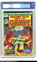 Bronze Age (1970-1979):Horror, Uncanny Tales #8 (Marvel, 1975) CGC NM 9.4 Off-white to whitepages. Reprints Steve Ditko stories. Overstreet 2003 NM 9.4 va...