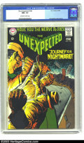 Silver Age (1956-1969):Horror, Unexpected #108 (DC, 1968) CGC NM+ 9.6 Off-white to white pages. Acolorful Jack Sparling cover fronts this issue. One of on...