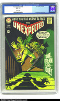 Silver Age (1956-1969):Horror, Unexpected #109 (DC, 1968) CGC NM- 9.2 Off-White pages. A nice,glossy copy of this DC horror title. Overstreet 2003 NM 9.4 ...
