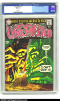 Silver Age (1956-1969):Horror, Unexpected #110 (DC, 1968) CGC NM 9.4 White pages. A wild NealAdams cover highlights this issue. To date, there are no high...