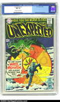 "Silver Age (1956-1969):Horror, Unexpected #111 (DC, 1969) NM- 9.2 Off-white to white pages. NIck Cardy turns in a fun ""wheel of mis-fortune"" cover on this ..."