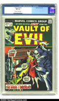 Bronze Age (1970-1979):Horror, Vault of Evil #2 (Marvel, 1973) CGC NM 9.4 Off-white to whitepages. If 1950s horror ala Atlas is your style, this is for yo...