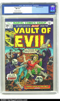 Bronze Age (1970-1979):Horror, Vault of Evil #17 (Marvel, 1975) CGC NM 9.4 Off-white to whitepages. Here's more cool 1950s-era Atlas horror reprints. A cl...