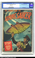 Golden Age (1938-1955):Science Fiction, Vic Torry & His Flying Saucer #nn (Fawcett, 1950) CGC FN- 5.5Cream to off-white pages. Photo/painted flying saucer cover. B...