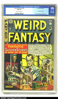 Golden Age (1938-1955):Horror, Weird Fantasy #13 (#1) (EC, 1950) FN+ 6.5 Cream to off-white pages.First issue of this title. Feldstein cover. Kamen, Wood,...