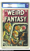 Golden Age (1938-1955):Science Fiction, Weird Fantasy #16 (EC, 1952) CGC FN/VF 7.0 Off-white pages.Feldstein cover. Williamson, Kamen, and Orlando art. Overstreet ...