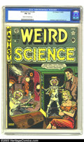 Golden Age (1938-1955):Horror, Weird Science #15 (#4) (EC, 1950) CGC FN+ 6.5 Cream to off-whitepages. War of the Worlds cover and story. Feldstein cover. ...