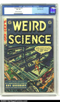 Golden Age (1938-1955):Science Fiction, Weird Science #20 White Mountain pedigree (EC, 1953) CGC VF+ 8.5Off-white to white pages. Wally Wood cover. Frazetta/Willia...