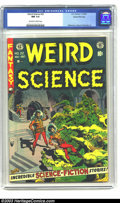 Golden Age (1938-1955):Horror, Weird Science #22 Gaines File pedigree 4/11 (EC, 1953) CGC NM 9.4Off-white to white pages. Wally Wood cover. Williamson, Wo...