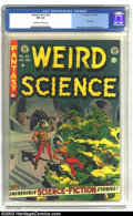 Golden Age (1938-1955):Horror, Weird Science #22 (EC, 1953) CGC FN 6.0 Off-white to white pages.Last issue. Wood cover. Williamson, Wood, and Orlando art....
