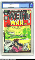 Bronze Age (1970-1979):War, Weird War Tales #2 (DC, 1971) CGC NM- 9.2 Off-white pages. Joe Kubert cover, Reed Crandall art. There are currently only two...