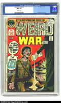 Bronze Age (1970-1979):War, Weird War Tales #4 (DC, 1972) CGC NM+ 9.6 Off-white pages. Joe Kubert cover and art. To date, no other copies of this issue ...