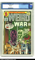 Bronze Age (1970-1979):War, Weird War Tales #5 (DC, 1972) CGC NM- 9.2 Off-white pages. Joe Kubert cover, Alex Toth and Russ Heath art. There is currentl...