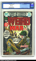 Bronze Age (1970-1979):War, Weird War Tales #6 (DC, 1972) CGC NM 9.4 Off-white to white pages. Joe Kubert cover, Alex Toth art. To date, this is the hig...