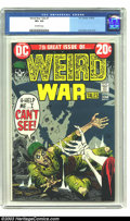 Bronze Age (1970-1979):War, Weird War Tales #7 (DC, 1972) CGC VF+ 8.5 Off-white pages. Joe Kubert cover and art. To date, this is the only CGC-graded co...