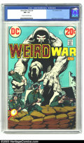 Bronze Age (1970-1979):War, Weird War Tales #8 (DC, 1972) CGC NM- 9.2 Cream to off-white pages. Neal Adams cover and art. To date, no other unrestored c...