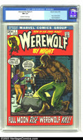 Bronze Age (1970-1979):Horror, Werewolf by Night #1 (Marvel, 1972) CGC NM 9.4 Off-white to whitepages. Mike Ploog art. One of the highest-graded copies CG...