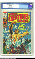 Bronze Age (1970-1979):Horror, Where Creatures Roam #6 (Marvel) CGC NM+ 9.6 Off-white to whitepages. A nice copy of this reprint issue, featuring some gre...