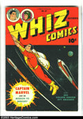 Golden Age (1938-1955):Superhero, Whiz Comics #69 (Fawcett, 1945) Condition FN-. Features CaptainMarvel and Spy Smasher. Spaceship cover. Overstreet 2003 FN ...