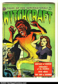 Golden Age (1938-1955):Horror, Witchcraft #1 (Avon, 1952) Condition: VG. Kubert art. Copy appearsmuch nicer, but does have 1.5 inch split at spine. Overst...