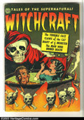 Golden Age (1938-1955):Horror, Witchcraft #4 (Avon, 1952) Condition: VG. Hollingsworth cover andart. Kinstler art. White pages. Overstreet 2003 VG 4.0 val...