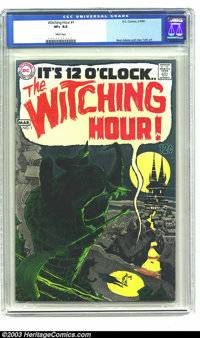 Witching Hour #1 (DC, 1969) CGC VF+ 8.5 White pages. A great book with art by Neal Adams and Alex Toth. A nice glossy co...