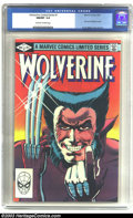 Modern Age (1980-Present):Superhero, Wolverine (limited series) #1 (Marvel, 1982) CGC NM/MT 9.8Off-white pages. Frank Miller cover and art. Sparklingnear-perfe...