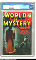 Silver Age (1956-1969):Horror, World of Mystery #5 (Atlas, 1957) CGC NM- 9.2 Cream to off-whitepages. Joe Orlando and Dick Ayers art. Highest grade for th...