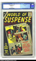 Silver Age (1956-1969):Mystery, World of Suspense #8 (Atlas, 1957) CGC VF/NM 9.0 Off-white pages.Only copy of this issue to be certified by CGC to date. Ov...