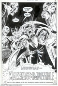 Original Comic Art:Splash Pages, Neal Adams and Dick Giordano - Original Splash Page Art forDetective Comics #407, page 2 (DC, 1971). Terrific splash page a...