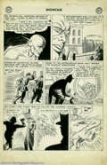 Original Comic Art:Panel Pages, Carmine Infantino - Original Art for Showcase #8, page 11 (DC,1957). From the earliest days of comics' Silver Age comes thi...
