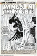 Original Comic Art:Splash Pages, John Romita, Don Heck, and Mike Esposito - Original Title Splashfor The Amazing Spider-Man #63 (Marvel, 1968). Cloaked in s...