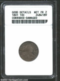 Early Dimes: , 1801 10C --Corroded, Damaged--ANACS. Good Details, Net Fair ...