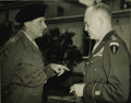 "Autographs:Military Figures, Dwight D. Eisenhower and Montgomery of Alamein Photograph Signed""Dwight D. Eisenhower"" and ""Montgomery ofAlamein/Fie..."