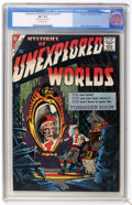 Silver Age (1956-1969):Horror, Mysteries of Unexplored Worlds #4 (Charlton, 1957) CGC VF+ 8.5Off-white pages....