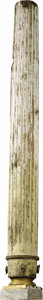 Movie/TV Memorabilia:Props, Civil War Architectural Pillar from Gone WIth the Wind. This eight-foot-high column immediately suggests memories of the cla...