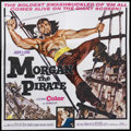 "Movie Posters:Adventure, Morgan the Pirate (MGM, 1961). Six Sheet (81"" X 81""). Adventure.Starring Steve Reeves, Valerie Lagrange, Ivo Garrani, Lidia..."