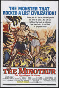 "Movie Posters:Adventure, The Minotaur (United Artists, 1961). One Sheet (27"" X 41"").Adventure. Starring Bob Mathias, Rosanna Schiaffino, Alberto Lup..."