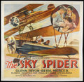 """Movie Posters:Drama, The Sky Spider (Action Pictures Inc., 1931). Six Sheet (81"""" X 81"""").Romantic Drama. Starring Glenn Tryon, Beryl Mercer, Blan..."""