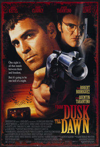 "From Dusk Till Dawn (Warner Brothers, 1996). One Sheet (27"" X 41"") Double Sided. Horror. Starring Harvey Keite..."