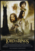 """Movie Posters:Fantasy, The Lord of the Rings: The Two Towers (New Line, 2002). One Sheet(27"""" X 41""""). Fantasy. Starring Elijah Wood, Ian McKellen, ..."""
