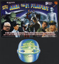 """Movie Posters:Science Fiction, The Day the Earth Stood Still (20th Century Fox, R-2001). PromoBrochure (14""""x21"""") and Mask. Promotional Mask (9"""" X 9""""). Sci...(Total: 2 Items)"""
