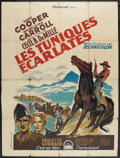 "Movie Posters:Adventure, Northwest Mounted Police (Paramount, 1940). French Grande (47"" X63""). Adventure. Starring Gary Cooper, Paulette Goddard, Lo..."
