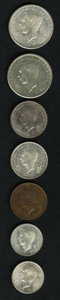 Luxembourg, Luxembourg: Seven-piece lot as follows:... (Total: 7 coins)